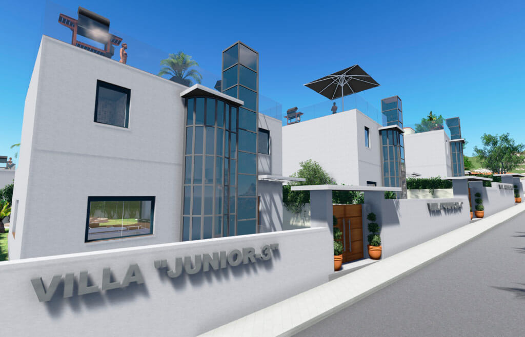 Street view of Junior Villa